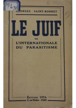 Le juif, 1932 r.