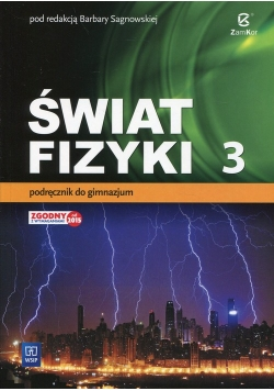 Świat fizyki 3 Podręcznik