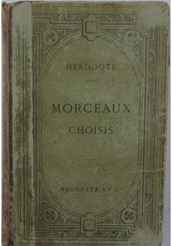 Morceaux choisis, 1896 r.