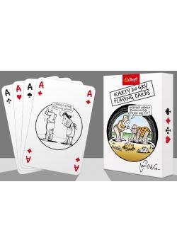 Karty - Mleczko 14907 55 listkówTREFL