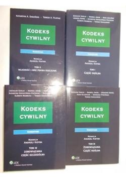 Kodeks cywilny TOM I – III