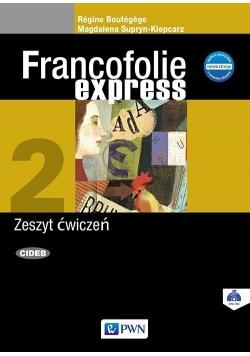 Francofolie express 2 Zeszyt ćwiczeń