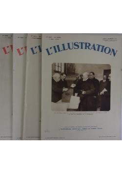 L'illustration, 4 czasopisma, 1932 r.