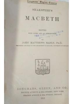 Macbeth, 1915 r.