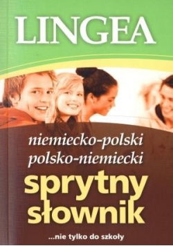 Sprytny słownik niem-pol, pol-niem Lingea
