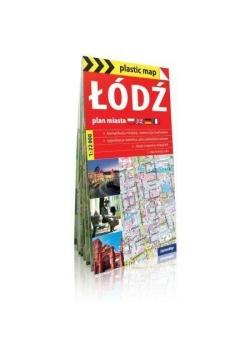 Plastic map Łódź - plan miasta 1:22 000