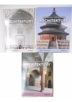 Arcydzieła światowej architektury, Tom I-III