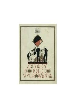Zasady dobrego wychowania, 1934r