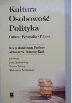 Kultura - Osobowość - Polityka