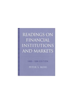 Readings on financal institutions and markets