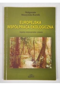Europejska współpraca ekologiczna