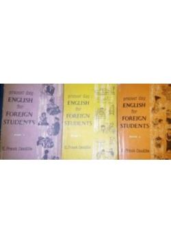 English for foreign students, zestaw 3 książek