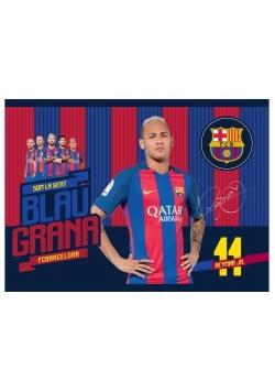 Blok rysunkowy A4/20K FCB Barca Fan (10szt) ASTRA