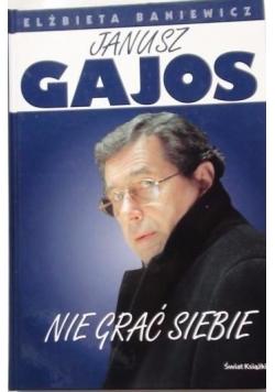 Janusz Gajos: Nie grać siebie