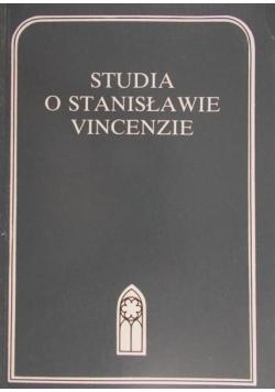 Studia o Stanisławie Vincenzie