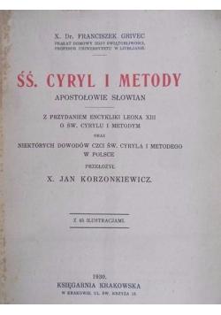 Śś. Cyryl i Metody, 1930 r.