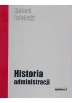 Historia administracji