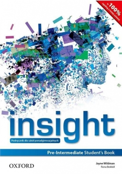 Insight Pre-Intermediate SB PL OXFORD