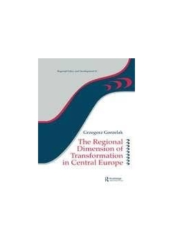 The regional Dimension of Tranformation in Central Europe