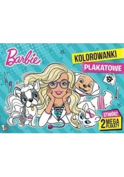 Barbie. Kolorowanki plakatowe