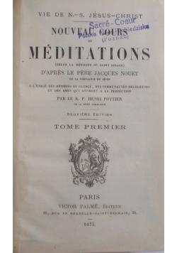 Nouveau Cours de Meditations, tom I, 1875 r.