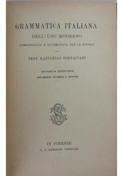 Gramatica Italiana dell'  uso moderno