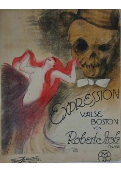 Expression valse Boston von Robert Stolz, 1920r.