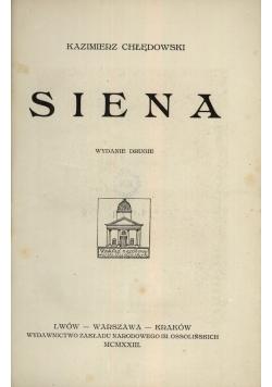 Siena,1923r.