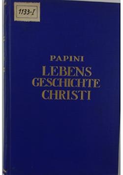 Lebens geschichte christi