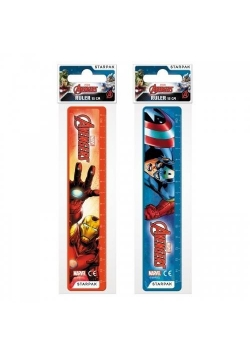 Linijka plastikowa 15cm Avengers