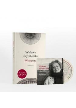 Wystarczy - Wisława Szymborska +CD Gratis TW