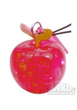 Crystal puzzle mini jabłko czerwone