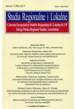 Studia Regionalne i Lokalne nr 3 (69) 2017