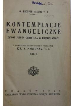 Kontemplacje Ewangeliczne Tom I, 1929 r.