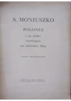 """Polonez z op.""""Halka"""" - transkrypcja na orkiestrę dętą"""