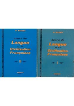 Cours de Langue et de Civilisation Francaises część 1 i 2