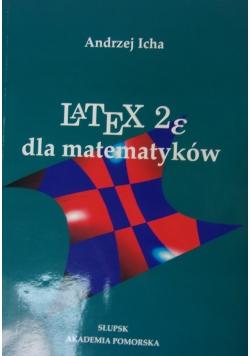 Latex 2e dla matematyków