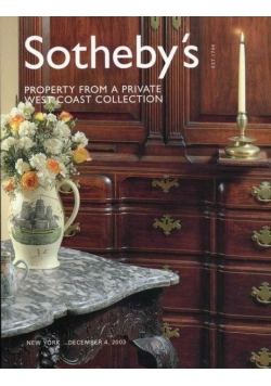 Sotheby's : Property from a Private West Coast Collection