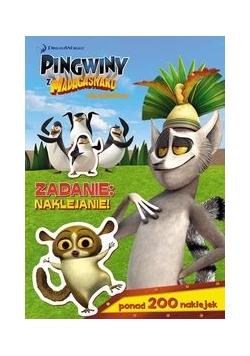 Pingwiny z Madagaskaru Zadanie naklejanie!