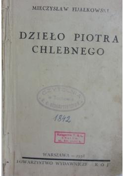 Dzieło Piotra Chlebnego, 1938r.