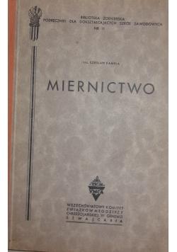MIERNICTWO ,1945r