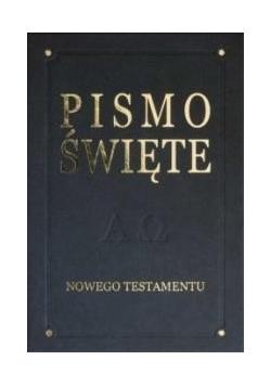 Pismo Święte Nowego Testamentu - De Luxe, grafit
