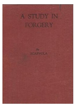 A study in forgery, 1945 r.
