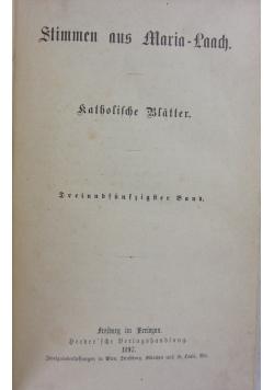 Stimmen aus Maria-Laach, 1897r.