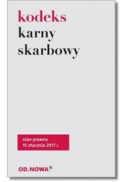 Kodeks karny skarbowy w.2017