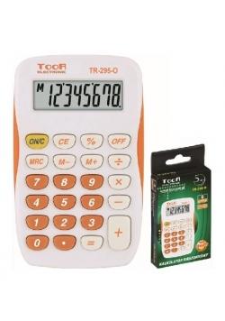 Kalkulator kieszonkowy 8-pozycyjny TR-295-O TOOR