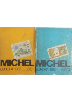 Michel Europa 1981r. , West, Michel Europa 1983r.