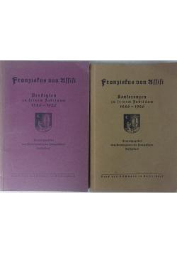 Franziskus von Assisi, 2 tomy, 1926 r.