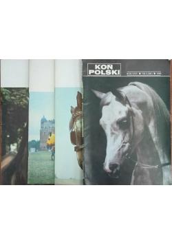Koń Polski, zestaw 4 części, 1989 r.