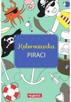 Kolorowanka Piraci